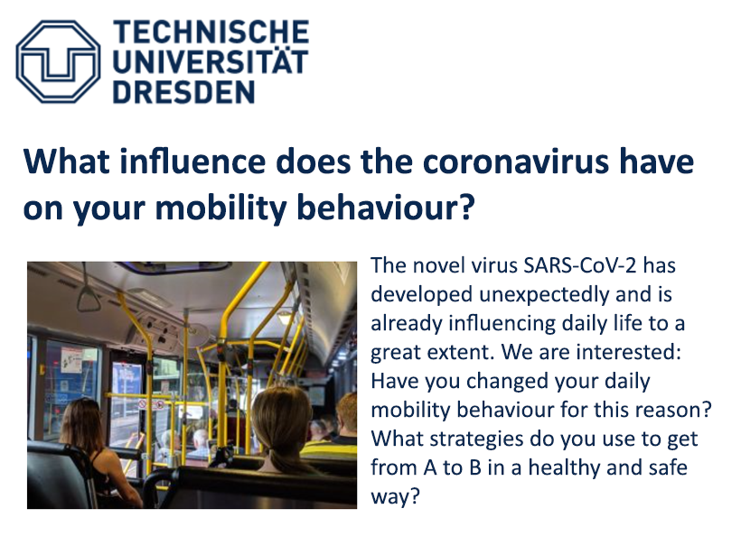 Covid impact on mobility behaviour