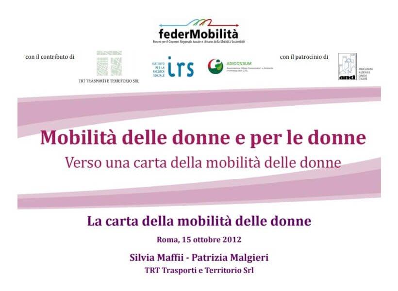 Women mobility Charter