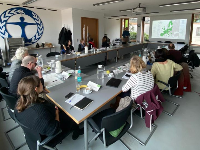 Exchange of German Horizon 2020 projects meeting