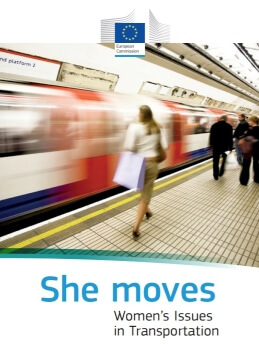 She moves. Women's issues in transportation.