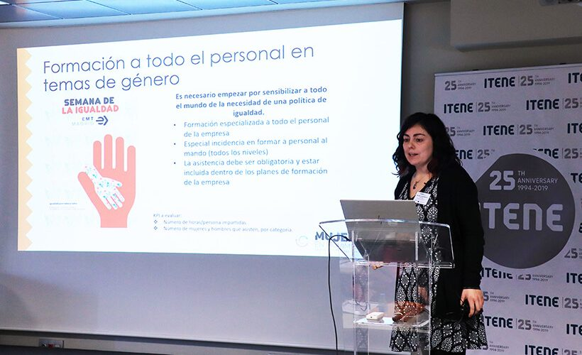 Marta Serrano at the Multistakeholder Forum